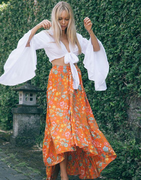 Fashion-шпаргалка: юбка в стиле бохо – как и с чем носить?