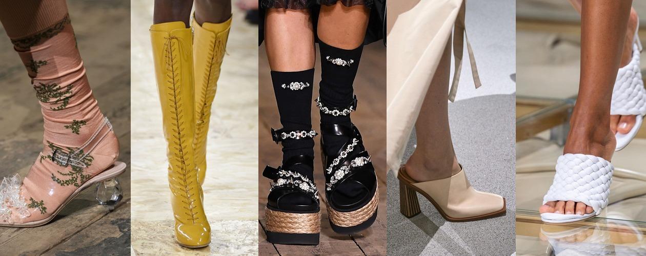 Обувные тренды весна-лето 2020