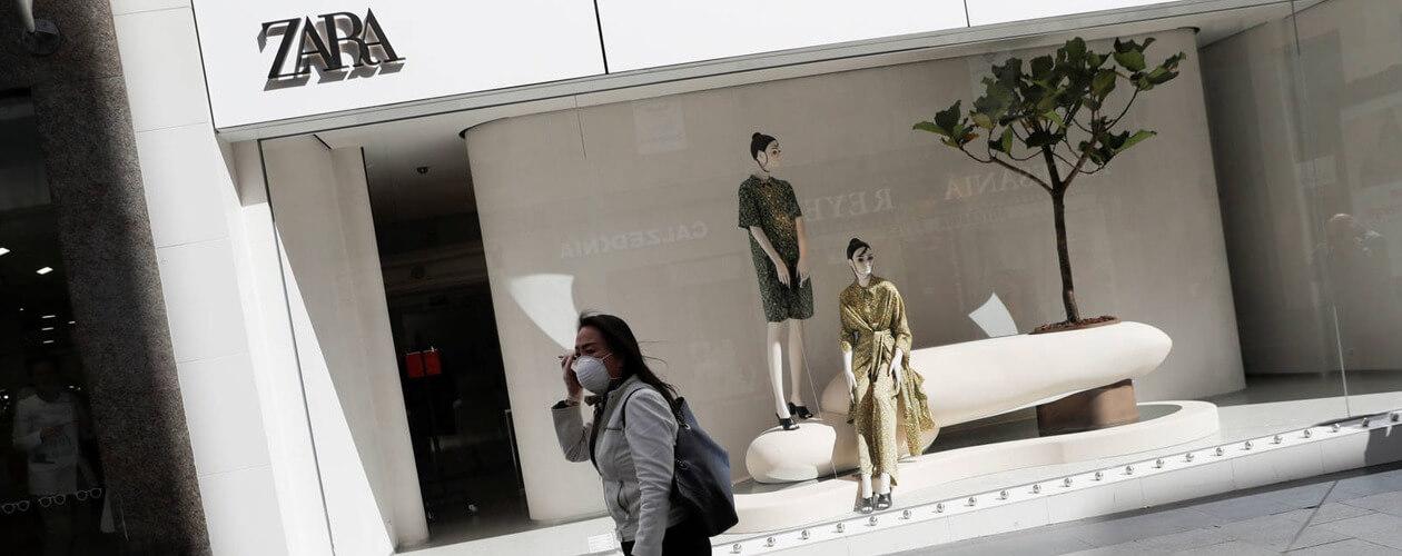 Zara объявила о начале производства защитных масок и медицинских халатов