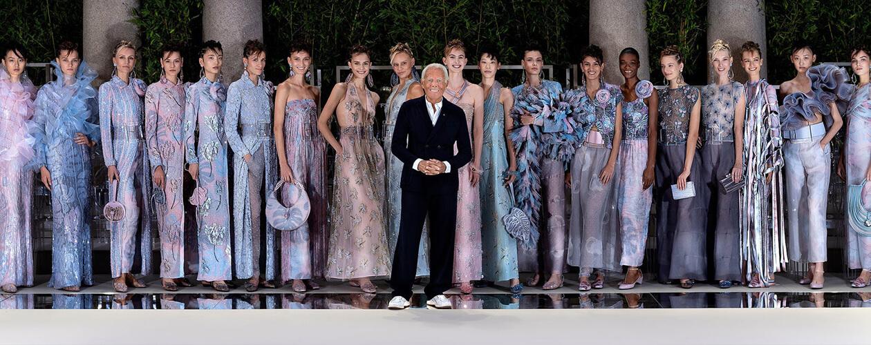 GiorgioArmani покидает Неделю Высокой моды