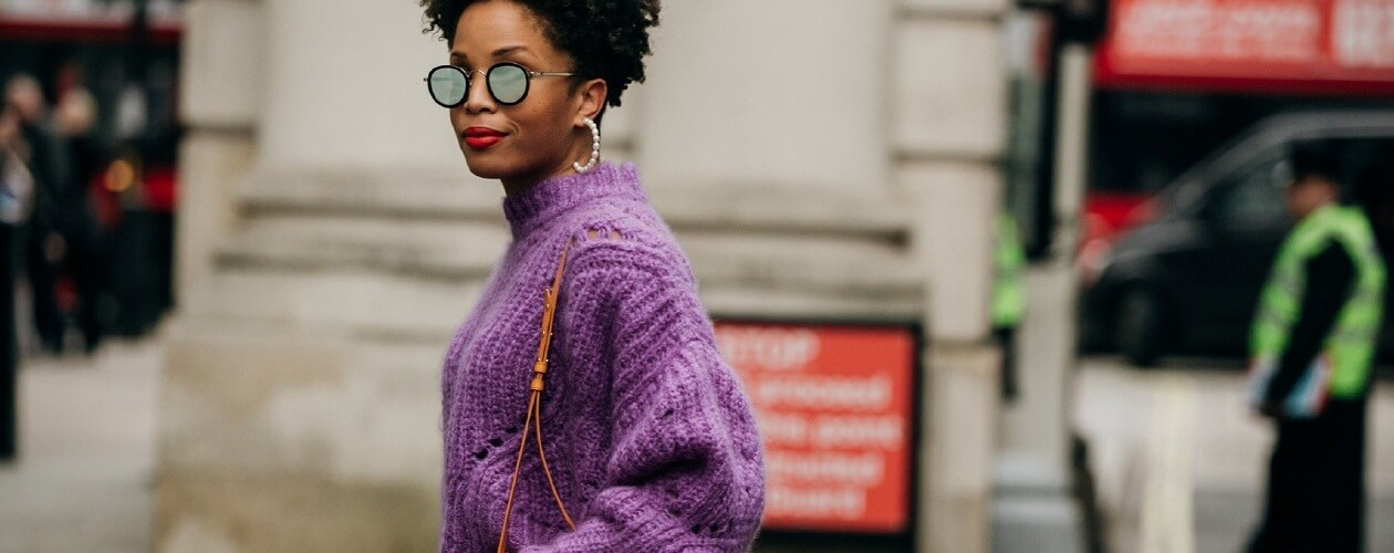 женский свитер тренды осень 2020
